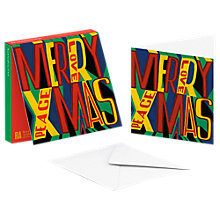 Buy ArtPress Merry Christmas Cards, Pack of 10 Online at johnlewis.com