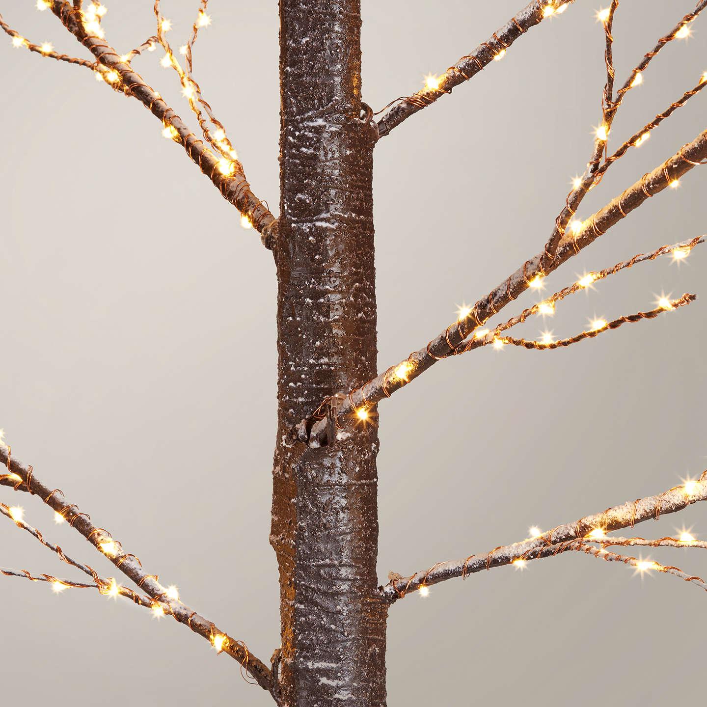 Buyjohn Lewis Pre Lit Copper Twig Tree, White, 75Ft Online At