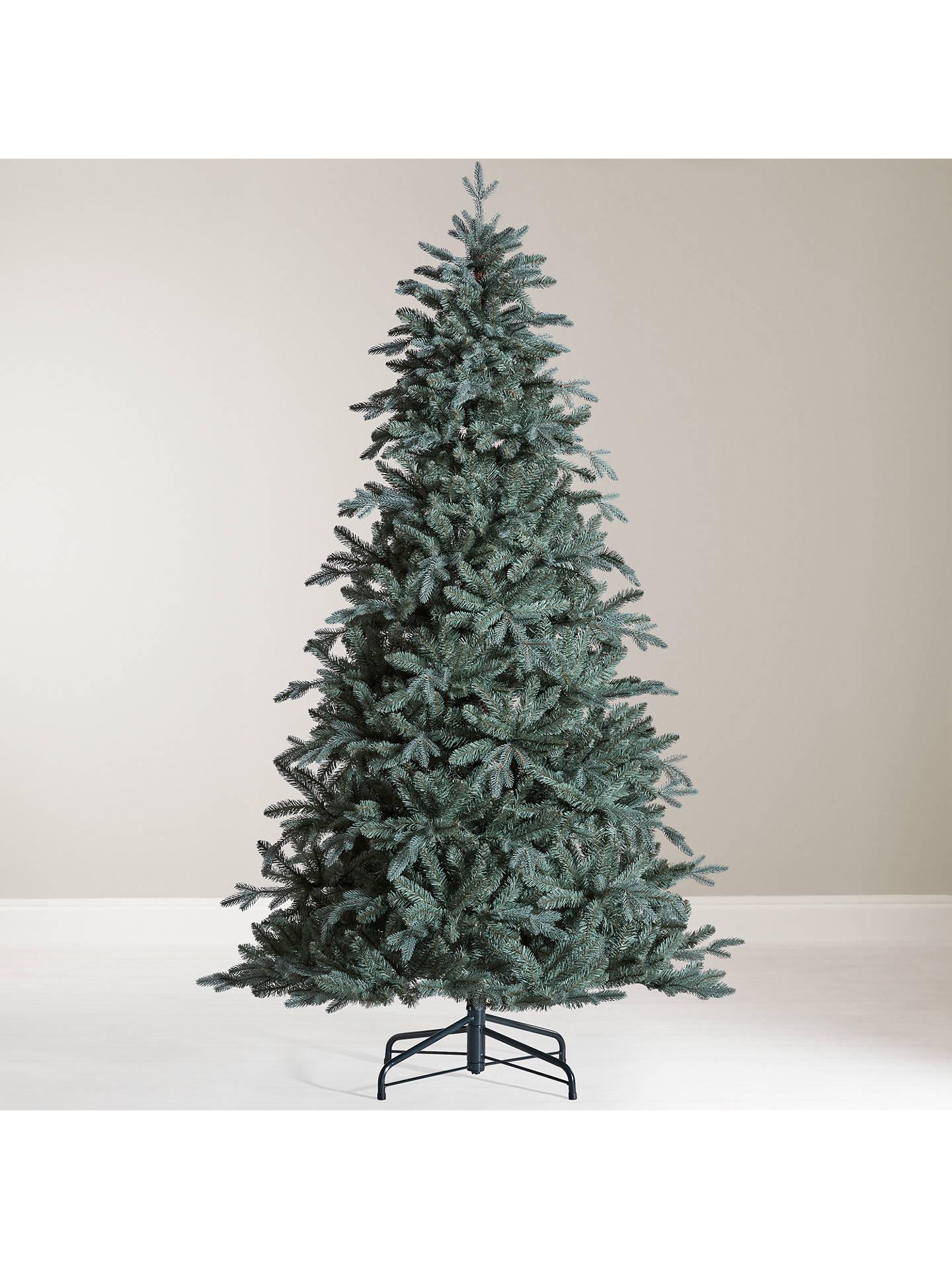 buyjohn lewis mitsuko serbian blue spruce christmas tree 7ft online at johnlewiscom