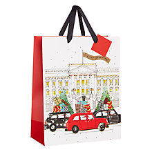 Buy John Lewis Tourism Christmas Medium Bag Online at johnlewis.com