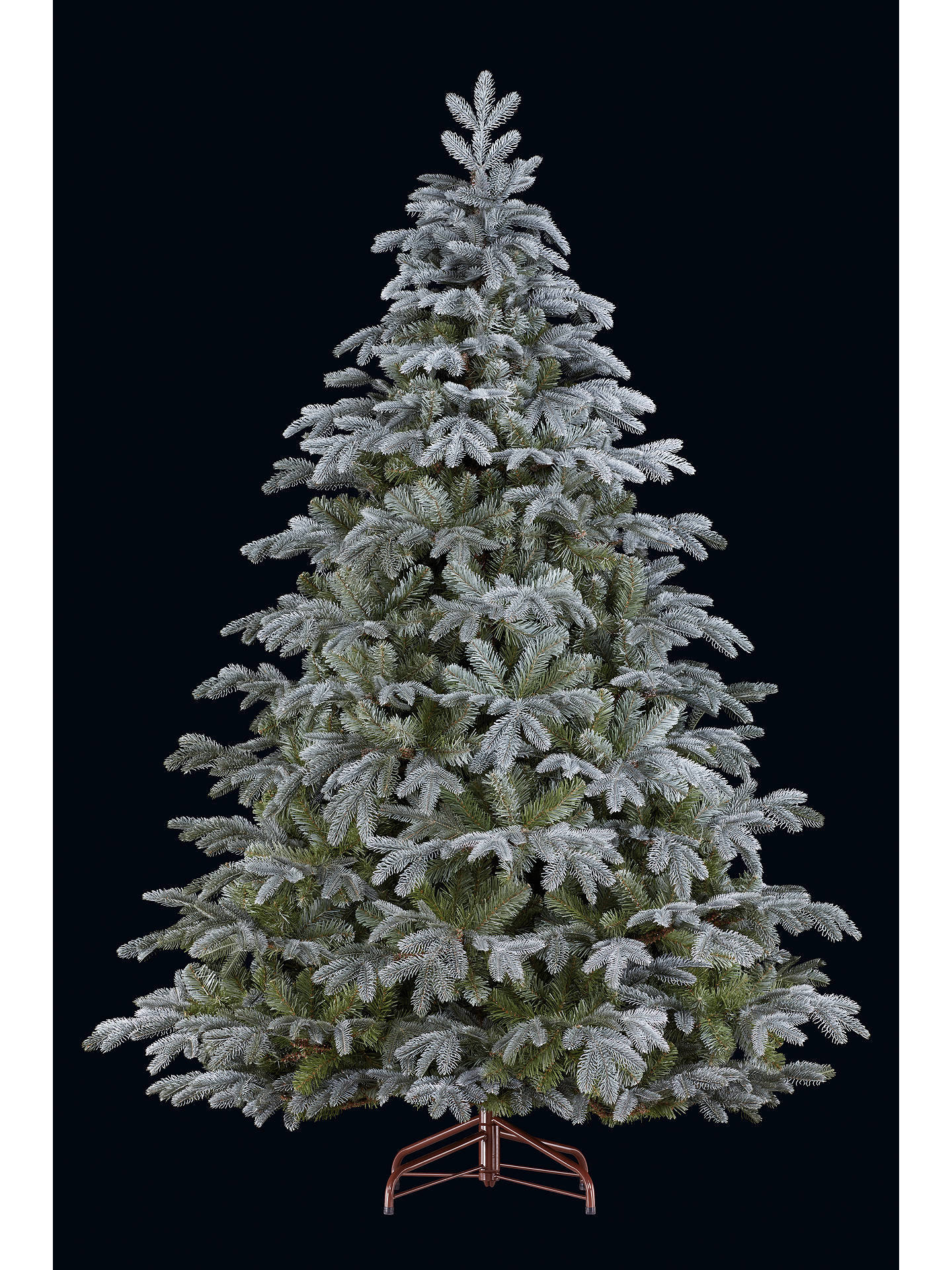 John Lewis Christmas Tree.John Lewis St Petersburg Blue Christmas Tree 7ft At John