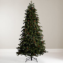 Buy John Lewis Wexford Glitter Christmas Tree, 7ft Online at johnlewis.com