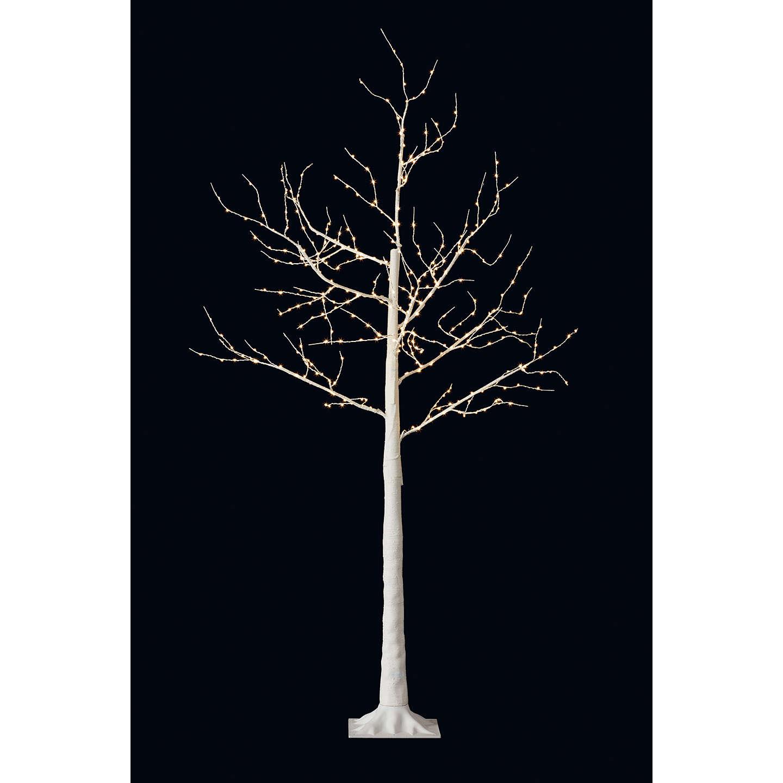 Outside Christmas Lights John Lewis: John Lewis Pre-Lit Birch Twig Tree, White, 4ft At John Lewis