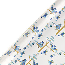 Buy John Lewis Winter Palace Owl Gift Wrap, W70cm x Roll Length 300cm Online at johnlewis.com