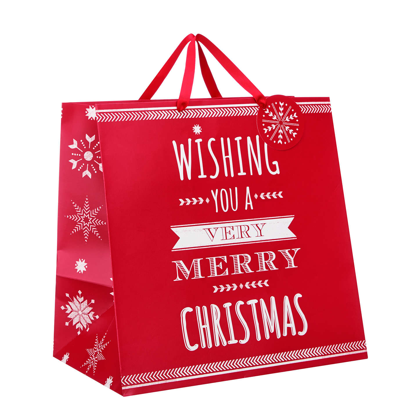 Buyjohn Lewis Wishing You A Very Merry Christmas Gift Bag