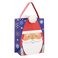 Buy John Lewis Lima Llama Santa Bobble Small Bag Online at johnlewis.com