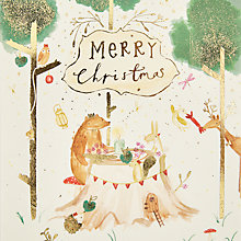 Buy John Lewis Tea Party Charity Christmas Cards, Pack of 6 Online at johnlewis.com
