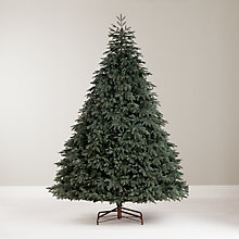 Buy John Lewis St. Petersburg Blue Christmas Tree, 9ft Online at johnlewis.com