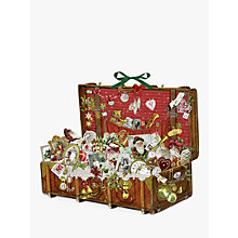 Buy Coppenrath Victorian Christmas Chest Large Advent Calendar Online at johnlewis.com