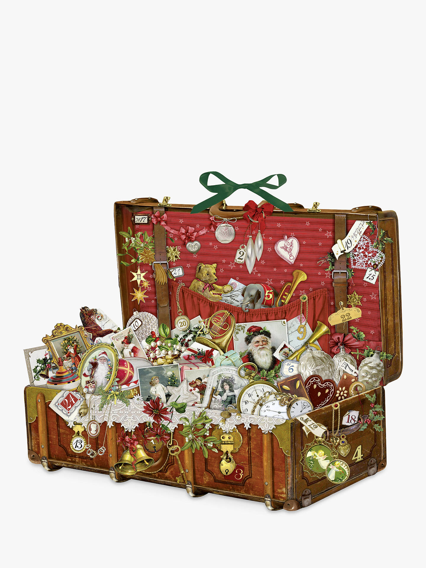 BuyCoppenrath Victorian Christmas Chest Large Advent Calendar Online at johnlewis.com
