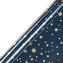 Buy Winter Palace Starry Night gift wrap, 3m Online at johnlewis.com