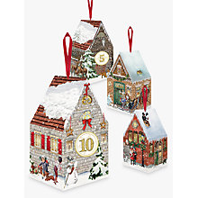 Buy Coppenrath Victorian Christmas Houses Advent Boxes, Pack of 24 Online at johnlewis.com