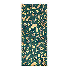 Buy John Lewis Into the Woods Silhouette Tissue Wrap, Green/Gold, 3 Sheets Online at johnlewis.com