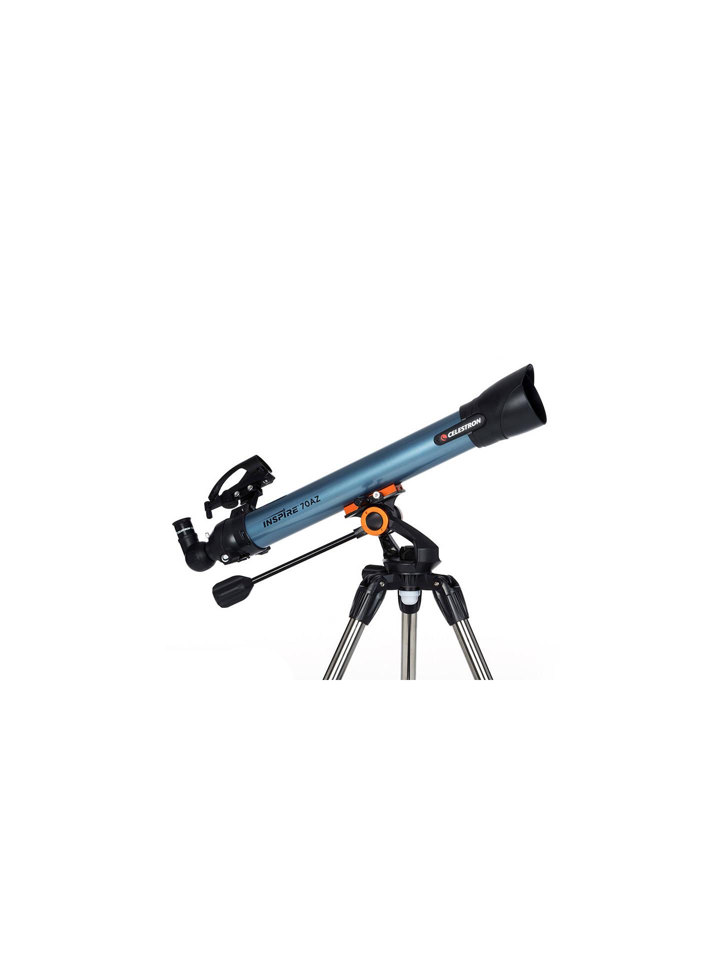 Celestron Inspire 70AZ Refractor Telescope with Smart