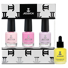 Buy Jessica Pastel Vitamin Enriched Custom Colours Nail Set with Gift Online at johnlewis.com