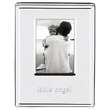 Buy kate spade new york Darling Point Little Angel Photo Frame, Silver Online at johnlewis.com