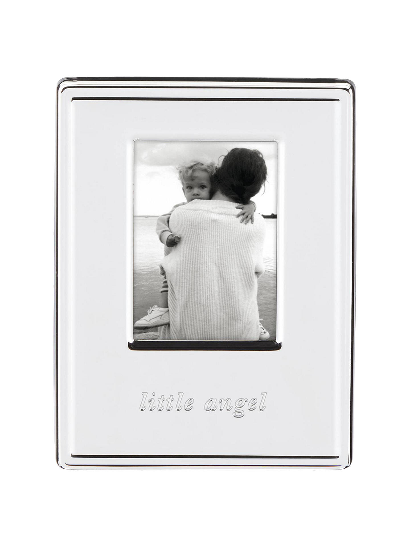 Kate Spade New York Darling Point Little Angel Photo Frame Silver