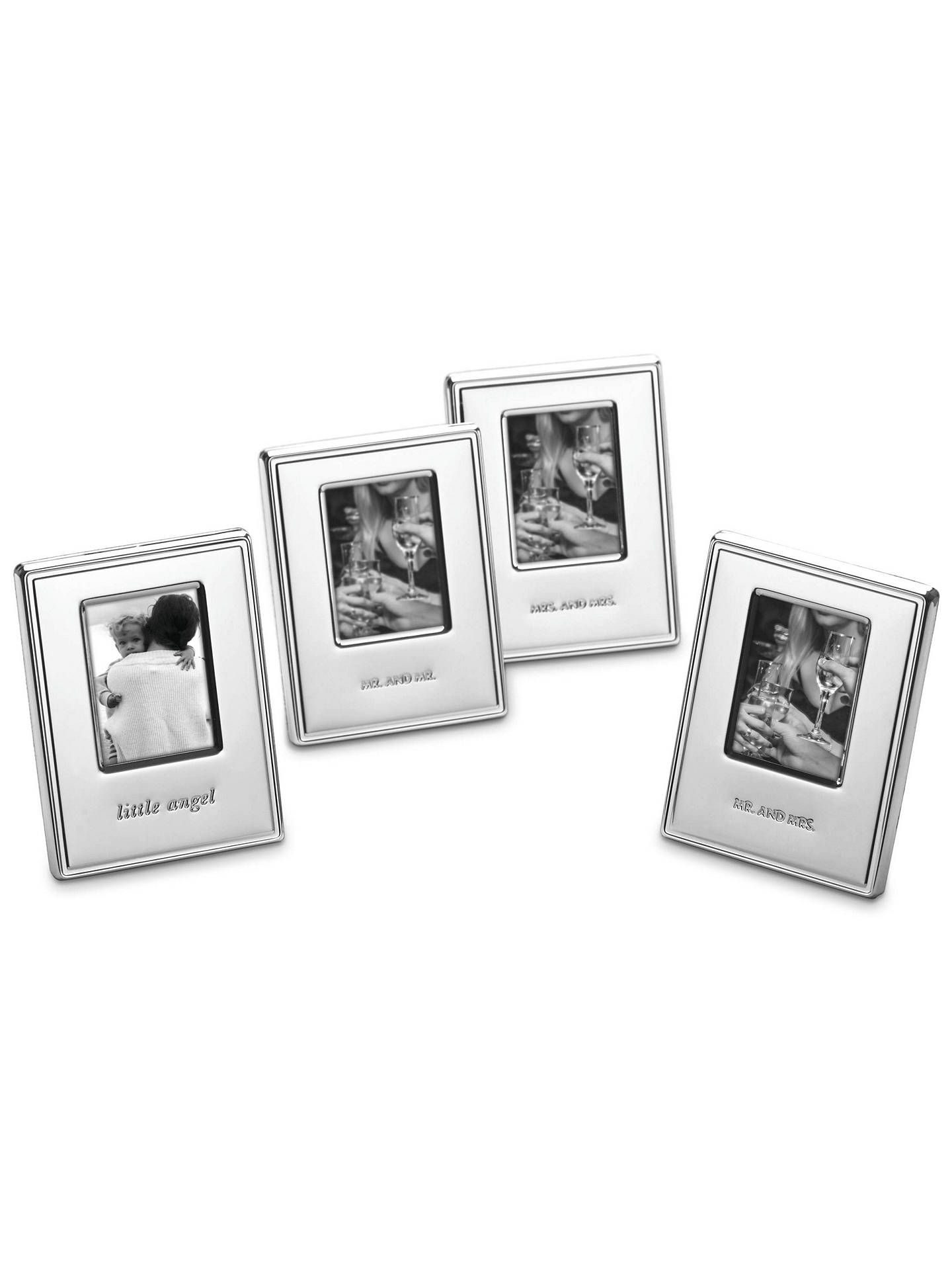 Kate Spade New York Darling Point Mr Mr Photo Frame Silver At