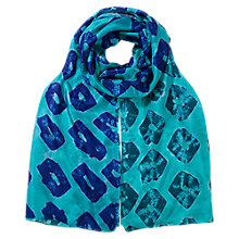 Buy East Bandhini Silk Scarf, Multi Online at johnlewis.com