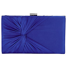 Buy Jacques Vert Riviera Clutch, Mid Blue Online at johnlewis.com
