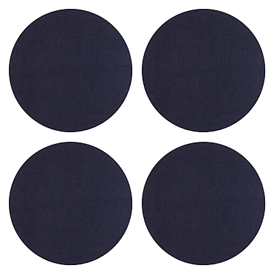 Product photo of House by john lewis round felt placemats set of 4