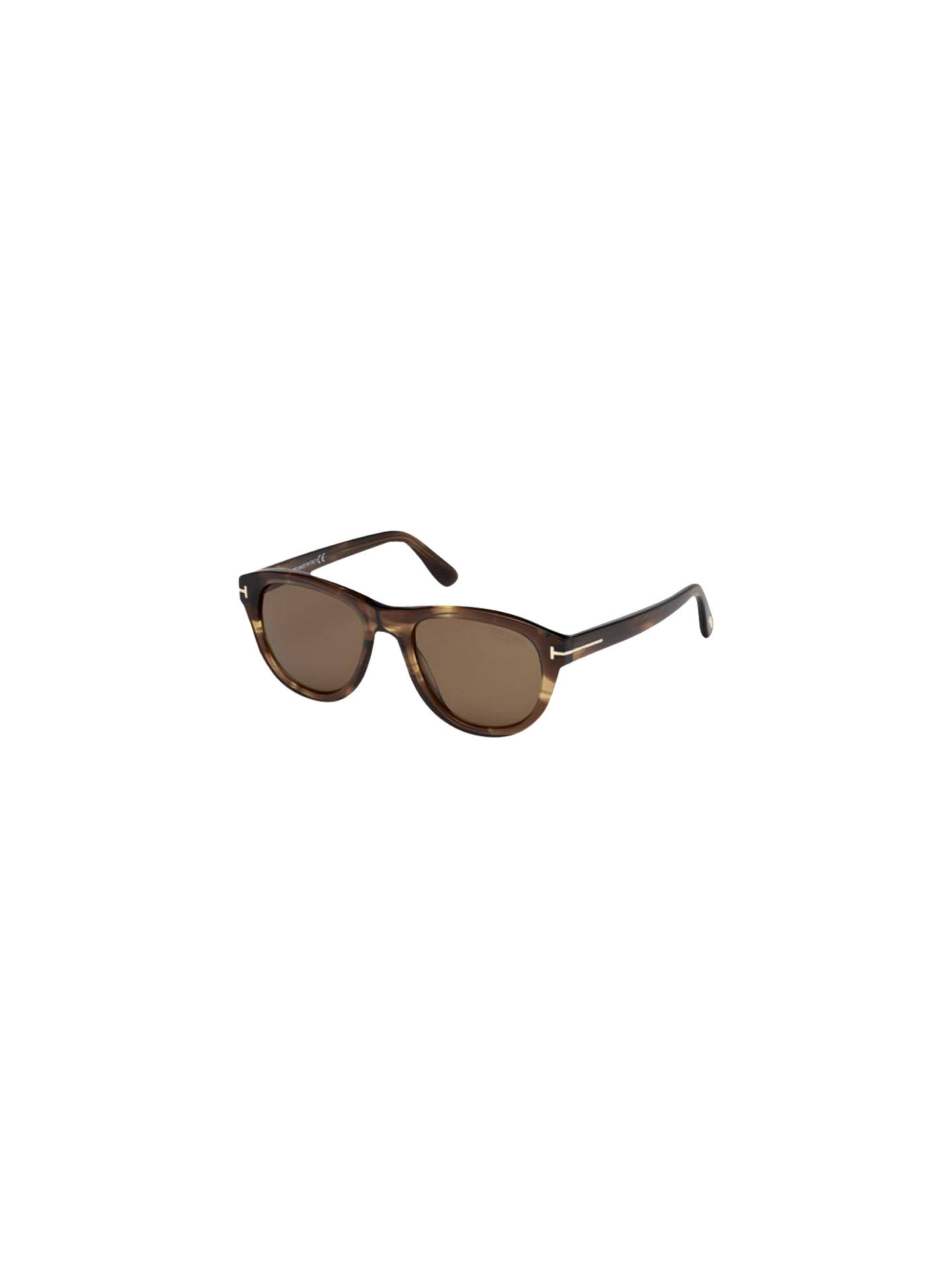 BuyTOM FORD FT0520 Benedict Sunglasses, Brown Online at johnlewis.com