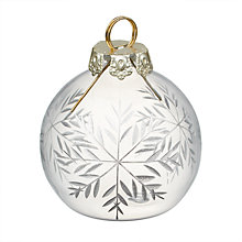 Buy John Lewis Winter Palace Bauble Placecard Holders, Set of 4 Online at johnlewis.com