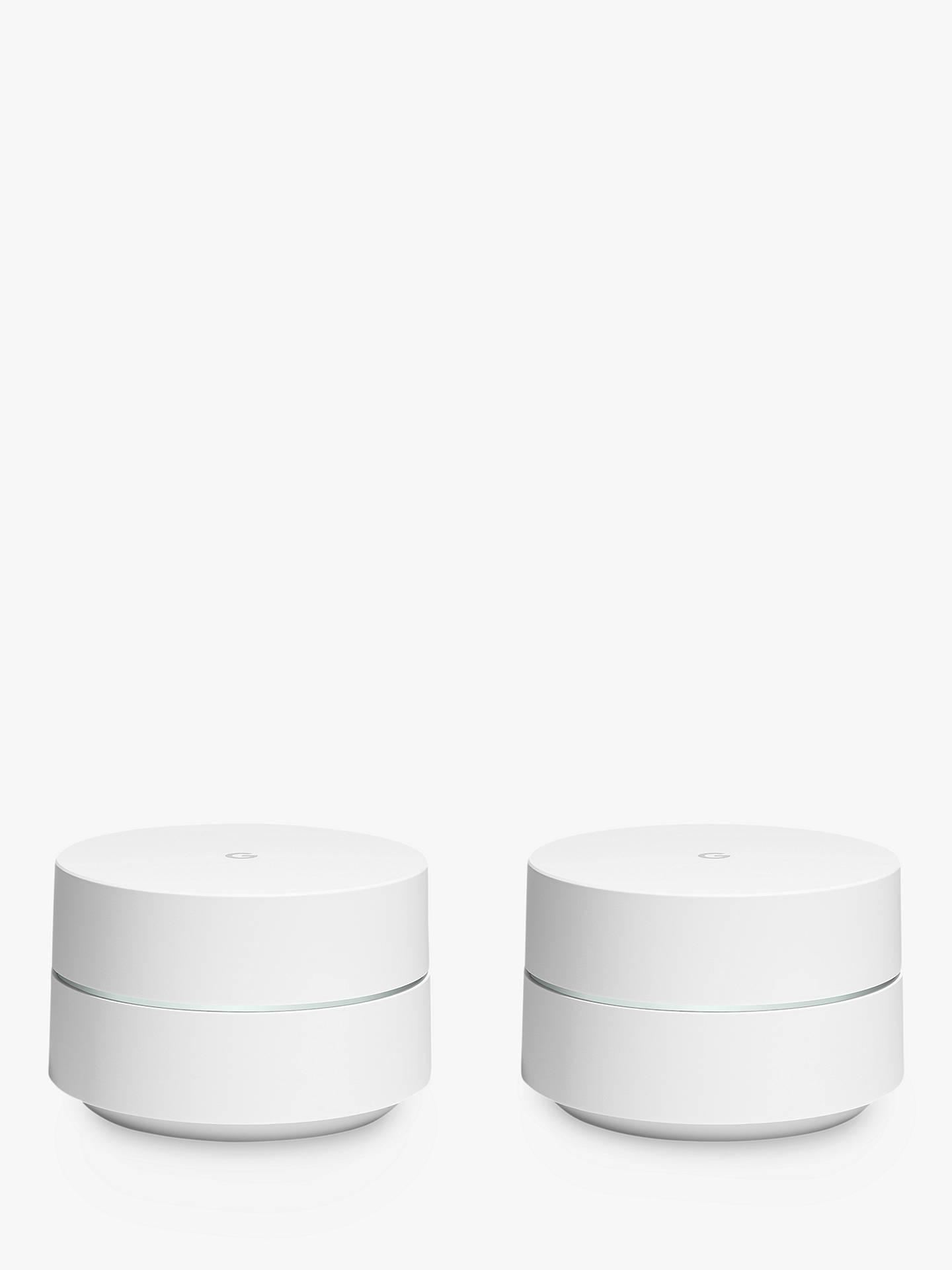 BuyGoogle Whole Home Wi-Fi System, 4GB eMMC Flash Storage, 512MB RAM, Two Pack Online at johnlewis.com