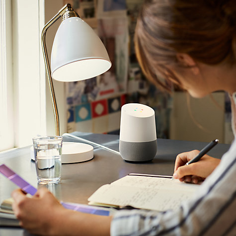 Buy Google Home Hands-Free Smart Speaker Online at johnlewis.com