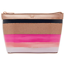 Buy Ted Baker Darell Marina Mosiac Small Wash Bag Navy Online at johnlewis.com