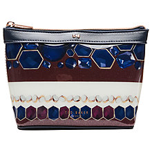 Buy Ted Baker Caroll Rowing Stripe Small Washbag, Navy Online at johnlewis.com