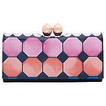 Buy Ted Baker Destiny Marina Mosaic Leather Bobble Matinee Purse, Navy Online at johnlewis.com