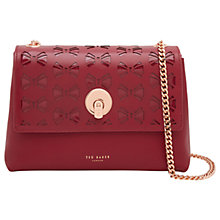 Buy Ted Baker Mina Leather Across Body Bag Online at johnlewis.com