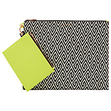 Buy Ted Baker Janin Pouch Purse, Black Online at johnlewis.com
