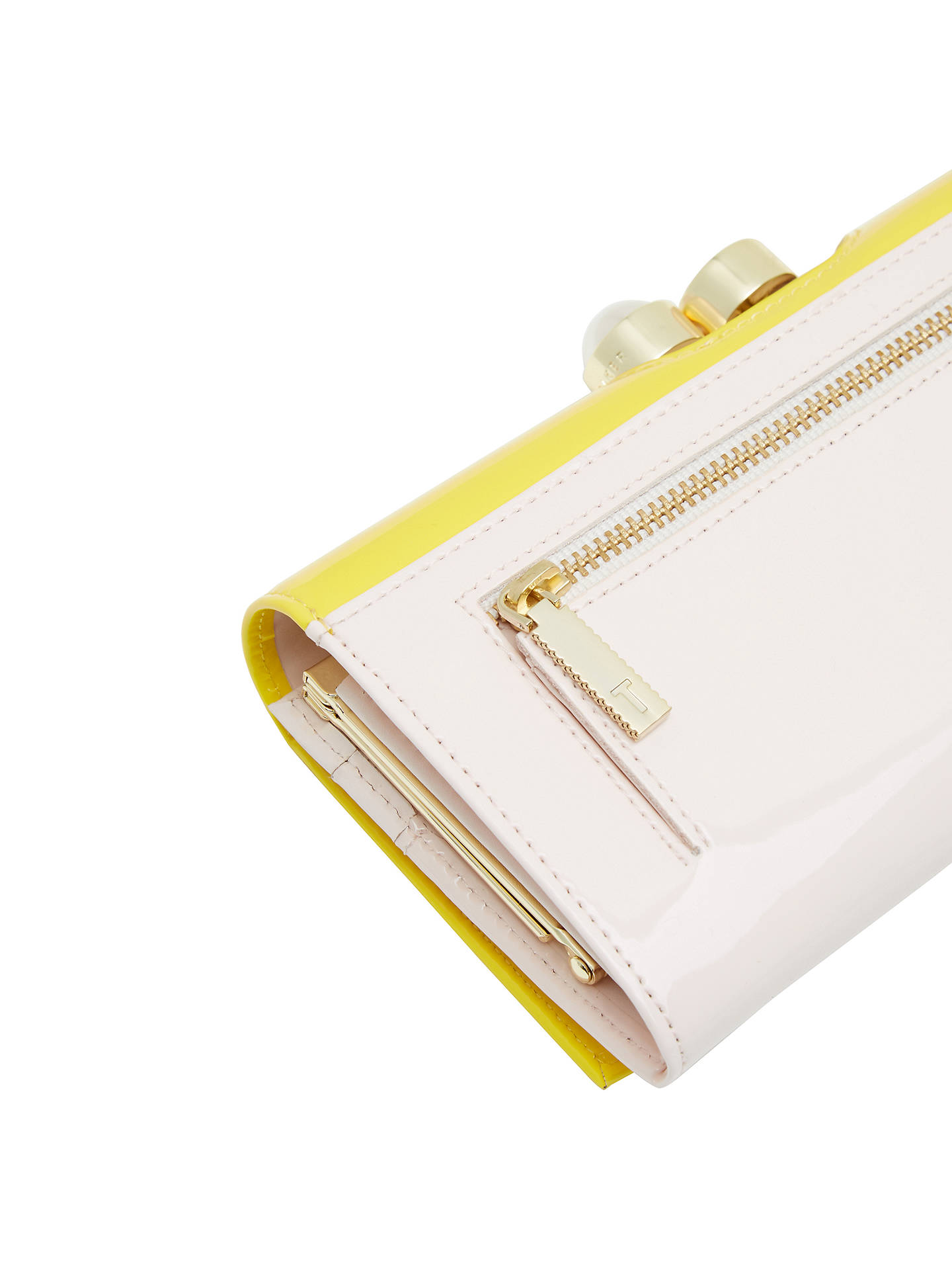 2ab9be2bf8d9f Ted Baker Cecilie Pearl Leather Matinee Purse at John Lewis   Partners