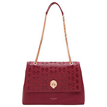 Buy Ted Baker Maisyy Leather Shoulder Bag Online at johnlewis.com