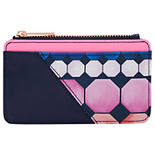 Buy Ted Baker Keena Marina Mosiac Leather Card Holder, Navy Online at johnlewis.com
