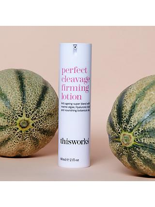 This Works Perfect Cleavage Firming Lotion, 60ml