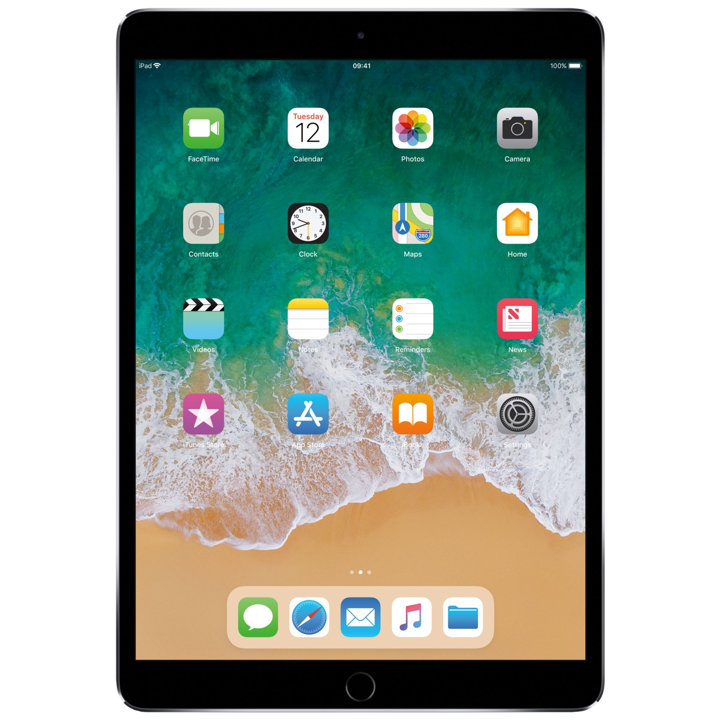 "Buy 2017 Apple iPad Pro 10.5"", A10X Fusion, iOS11, Wi-Fi, 256GB Online at johnlewis.com"