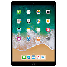 "Buy 2017 Apple iPad Pro 10.5"", A10X Fusion, iOS10, Wi-Fi & Cellular, 64GB Online at johnlewis.com"