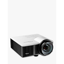 Buy Optoma ML750ST LED HD Ready 3D Portable Projector, 800 Lumens Online at johnlewis.com