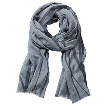 Buy Betty & Co. Graphic Print Scarf, Silver Sconce Online at johnlewis.com