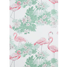 Buy John Lewis Flamingos Wallpaper, Multi Online at johnlewis.com