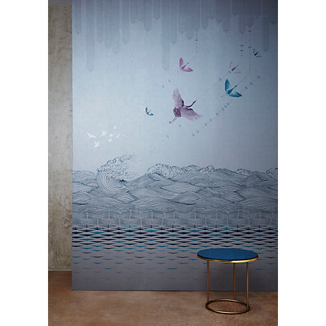 Buy V&A and John Lewis Kaiyo Wallpaper Panel Set, Grey / Multi Online at johnlewis.com