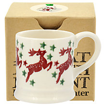 Buy Emma Bridgewater Reindeer Tiny Mug Christmas Tree Decoration, Multi Online at johnlewis.com