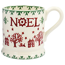 Buy Emma Bridgewater Christmas Joy Half Pint Mug, Multi, 284ml Online at johnlewis.com