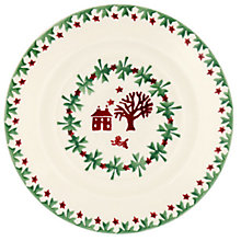 "Buy Emma Bridgewater Christmas Joy 6.5"" Plate, Multi, Dia.16.7cm Online at johnlewis.com"
