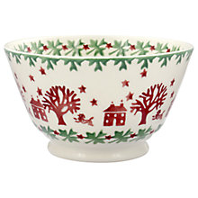Buy Emma Bridgewater Christmas Joy Bowl, Multi, Dia.12.3cm Online at johnlewis.com