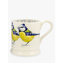 Buy Emma Bridgewater Blue Tit Half Pint Mug, 284ml Online at johnlewis.com