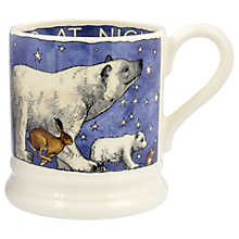 Buy Emma Bridgewater Winter Animals Half Pint Mug, Multi, 284ml Online at johnlewis.com